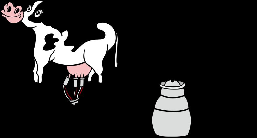 お仕事内容 牛のイラスト